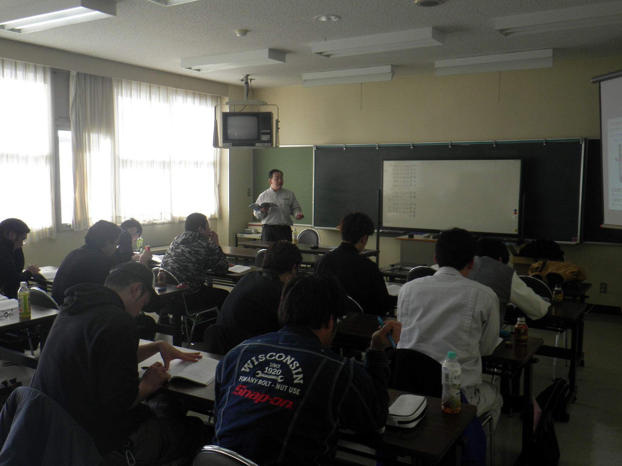 2月9日フォークリフト講習2
